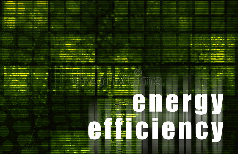 Download Energy Efficiency stock illustration. Image of wallpaper - 7606886