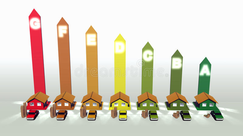 Download Energy efficiency stock illustration. Image of consumption - 33612690