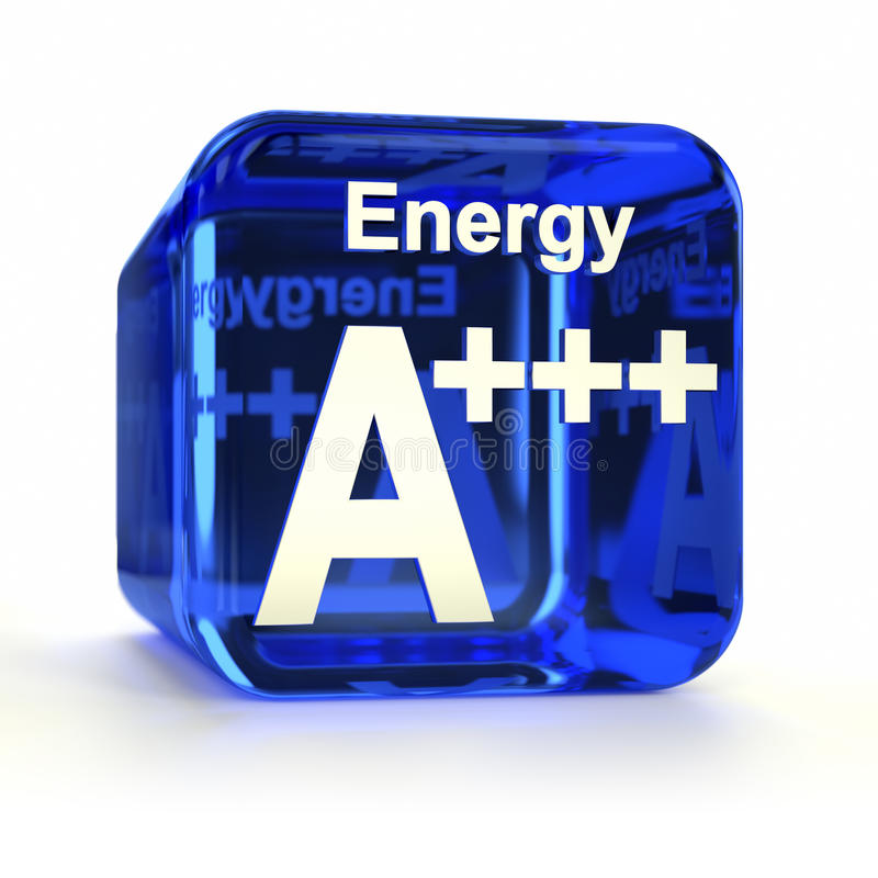 Energy Efficiency Rating A+++ vector illustration