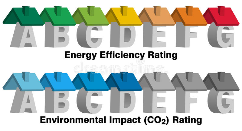 Download Energy Efficiency Rating stock vector. Image of concepts - 33562617
