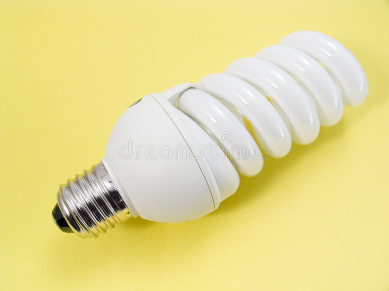 An Energy Efficient Bulb Royalty Free Stock Photos