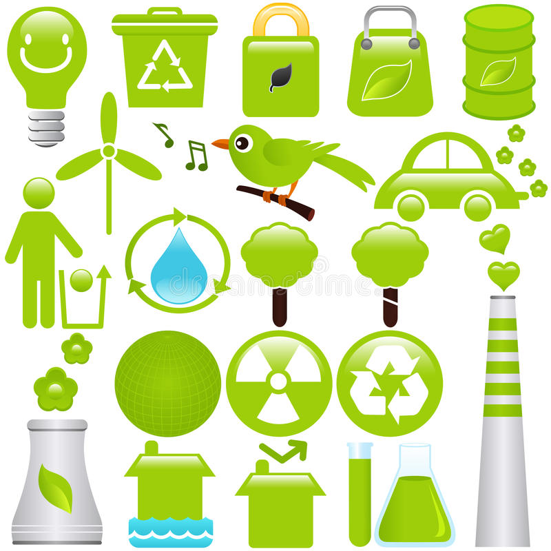 Download Energy And Environmental Conservation Stock Vector - Image: 22326353