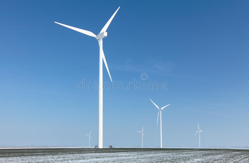 Download Energy farm stock photo. Image of blue, cold, field, turbine - 23566992
