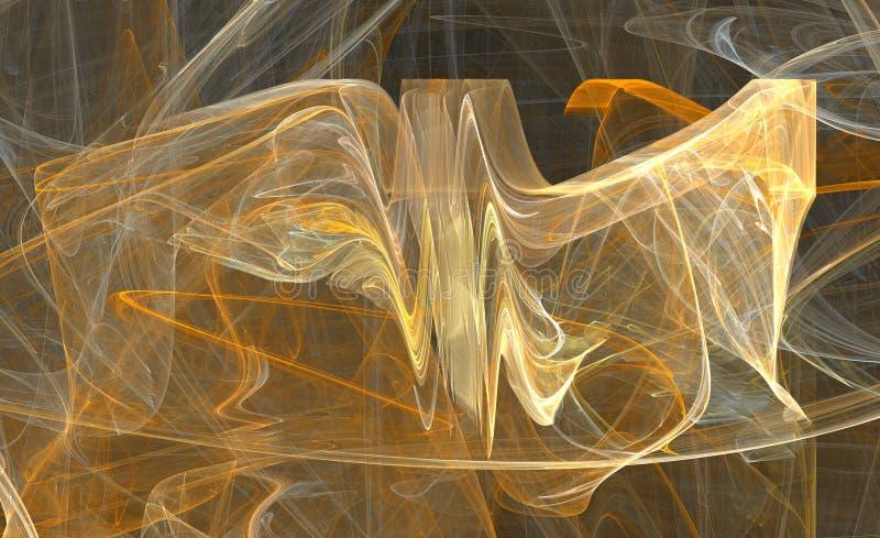 Energy fractal design stock illustration