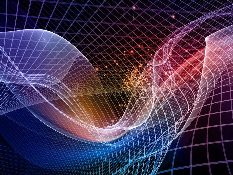 Download Energy of Fractal Realms stock image. Image of message - 34528517