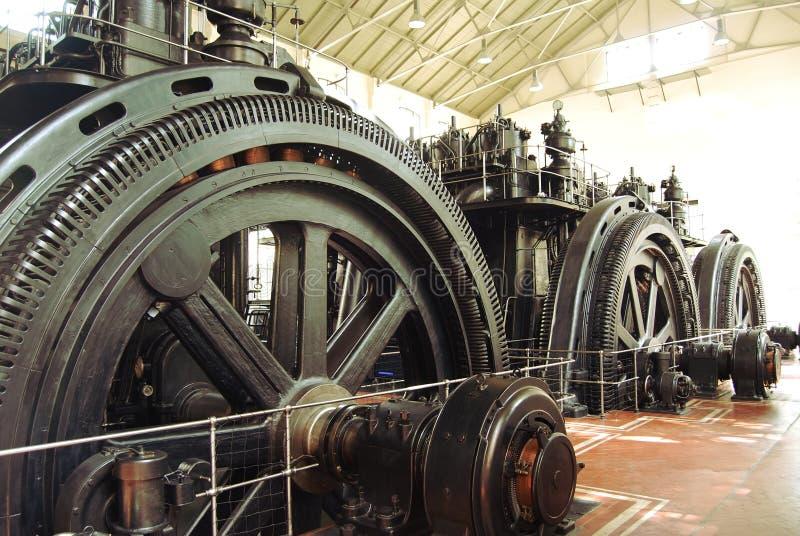 Energy generators stock photo