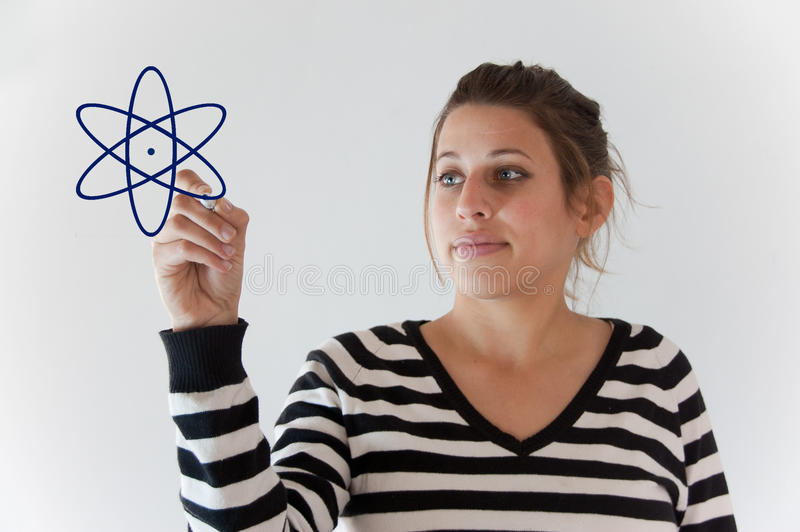 Download Energy girl stock photo. Image of present, calculate - 19059042