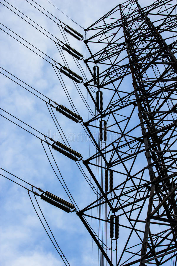 Download Energy High Voltage Powerline Stock Image - Image: 26687155