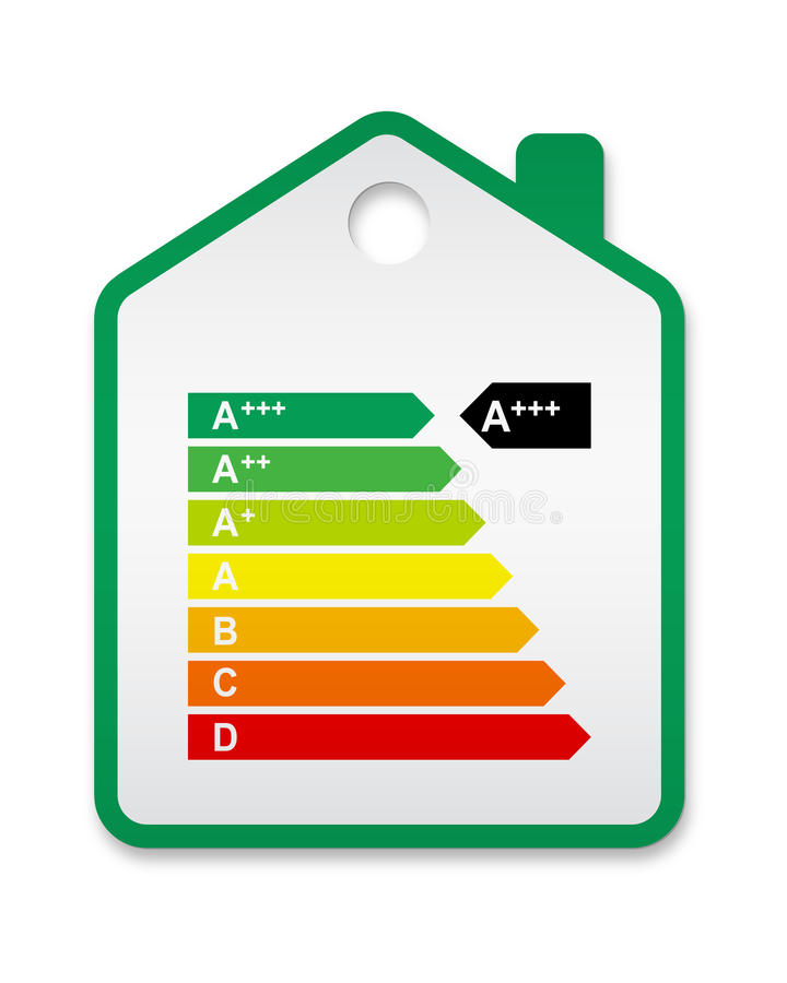 Download Energy Label House 2012 Stock Photo - Image: 22975940