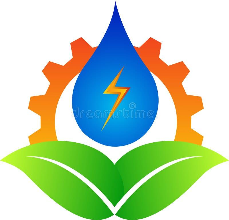 Energy logo. Illustration of energy logo design isolated on white background vector illustration