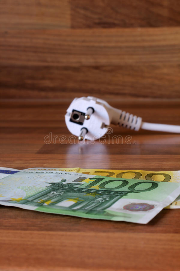 Download Energy and money stock image. Image of euro, euros, wood - 21335283