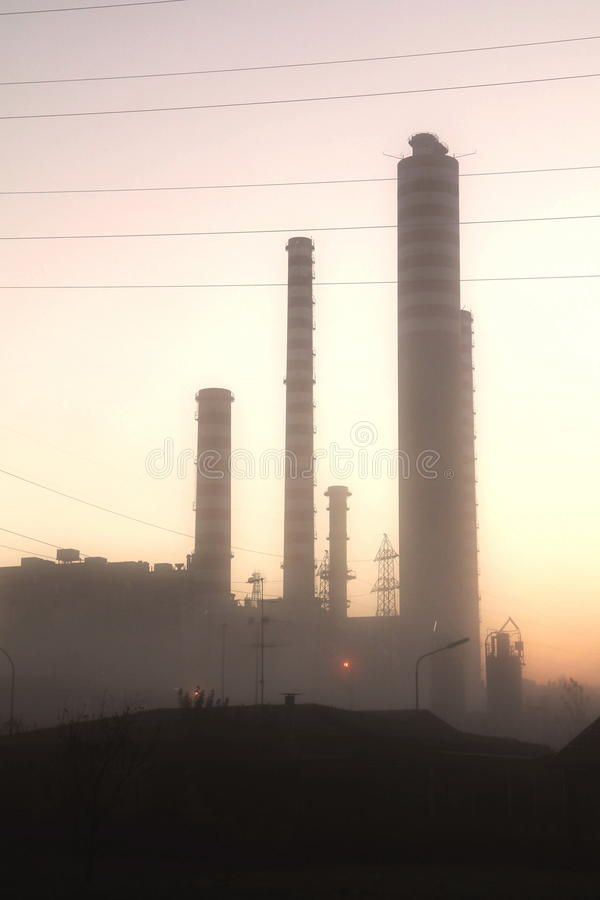 Download Energy Plant Royalty Free Stock Image - Image: 26984106