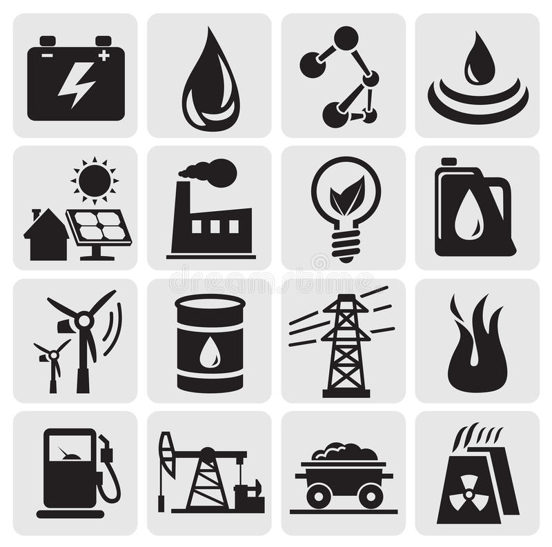 Download Energy and power icons stock vector. Illustration of earth - 25824895