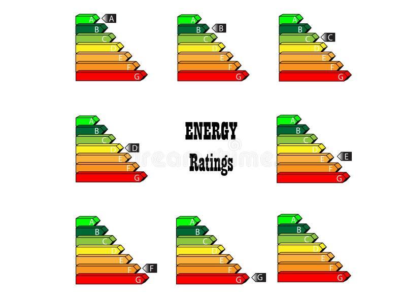 Energy Ratings stock photos