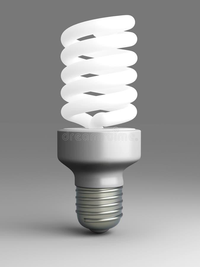 Energy Saver Light Bulb. 3D rendered Illustration. Energy Saver Light Bulb stock illustration