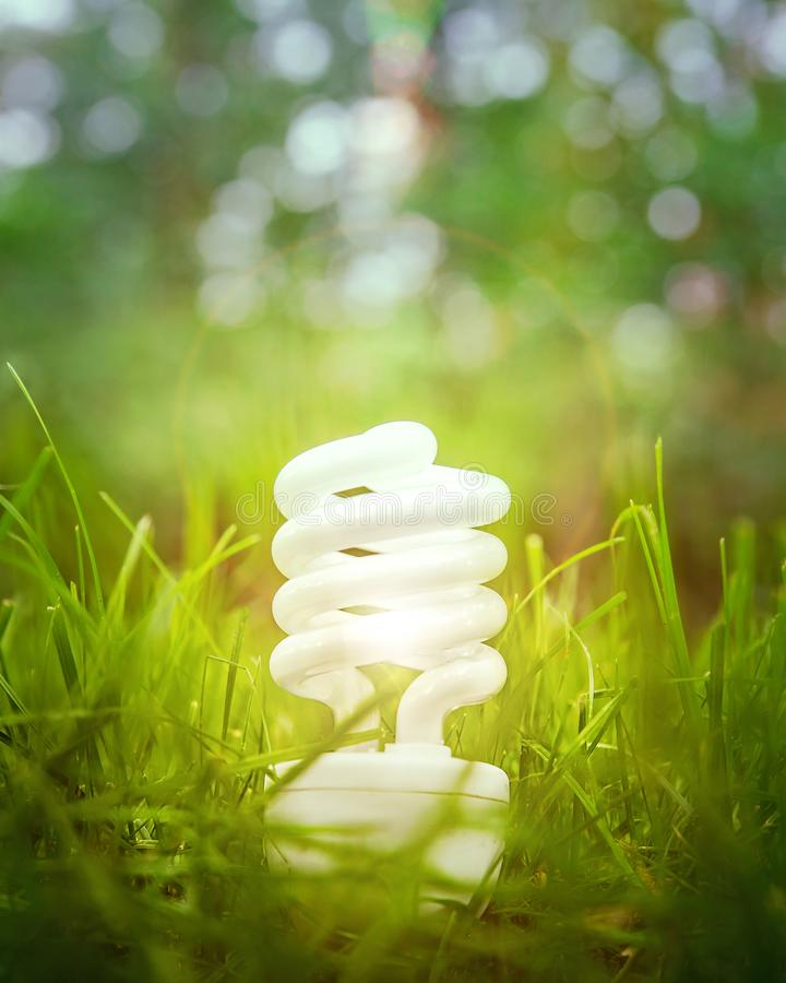 Energy saving and alternative power. Abstract backgrounds royalty free stock photography