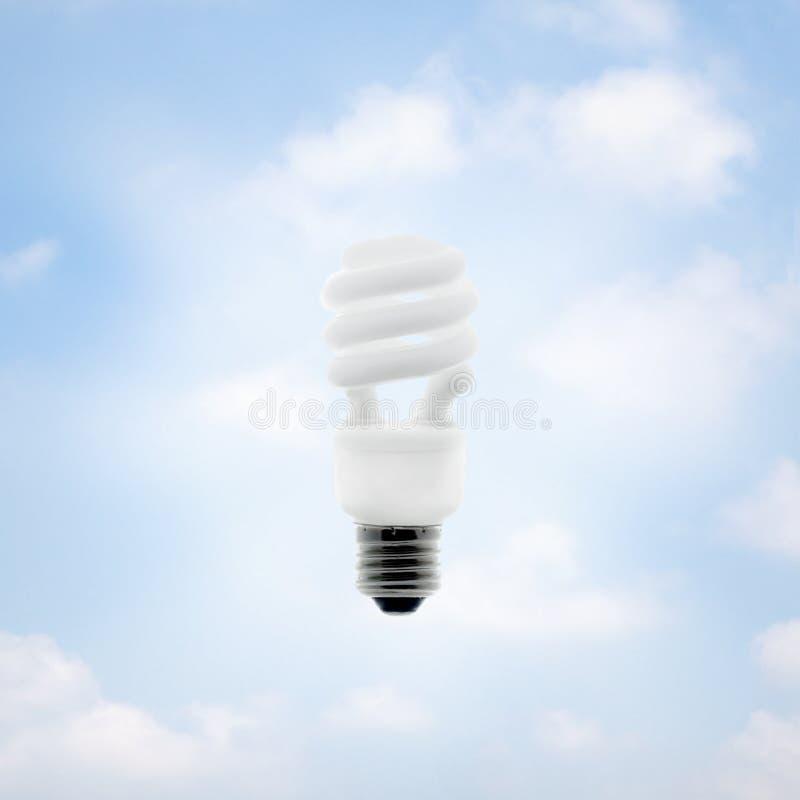 Energy Saving Bulb stock images