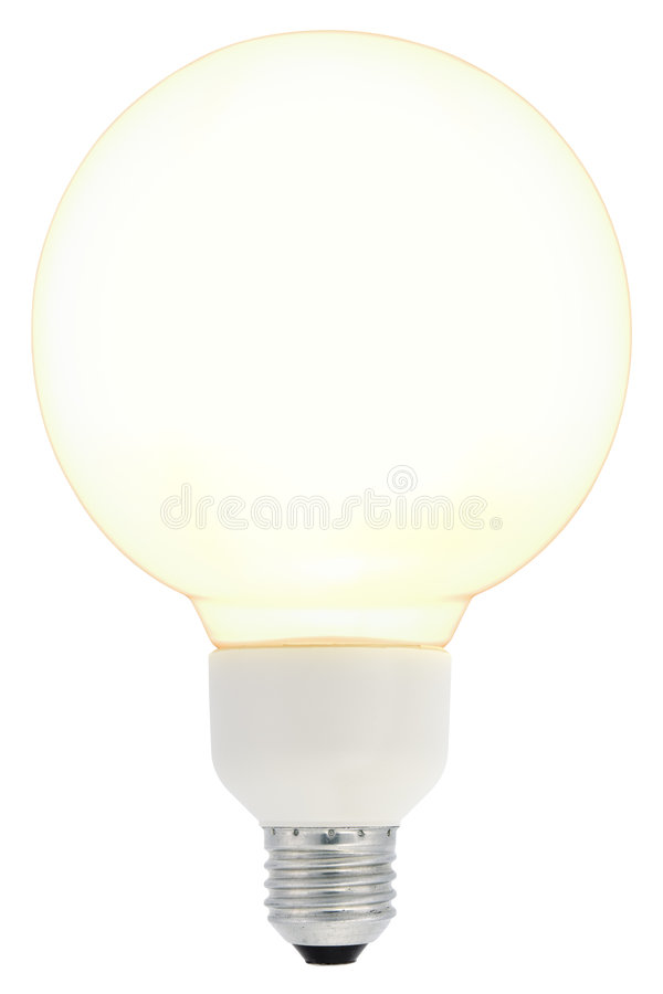 Download Energy Saving Bulb stock image. Image of background, design - 5455131