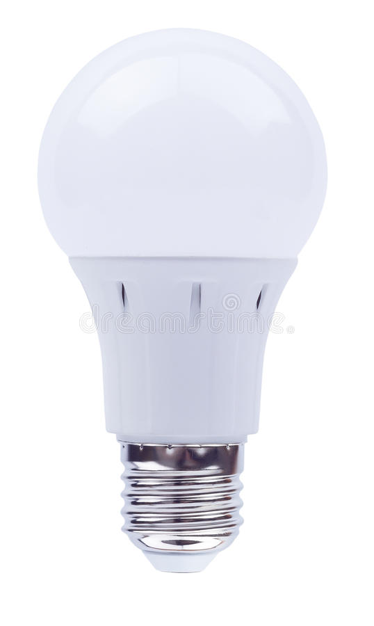 Energy saving bulb on a royalty free stock images