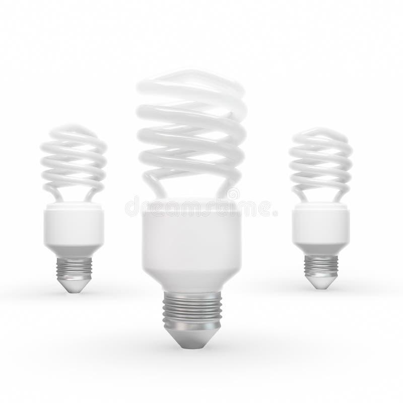 Download Energy Saving Bulbs Royalty Free Stock Photography - Image: 26015987