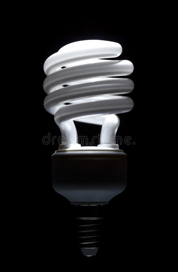 Download Energy Saving Compact Fluorescent Lightbulb Stock Photo - Image: 25808914