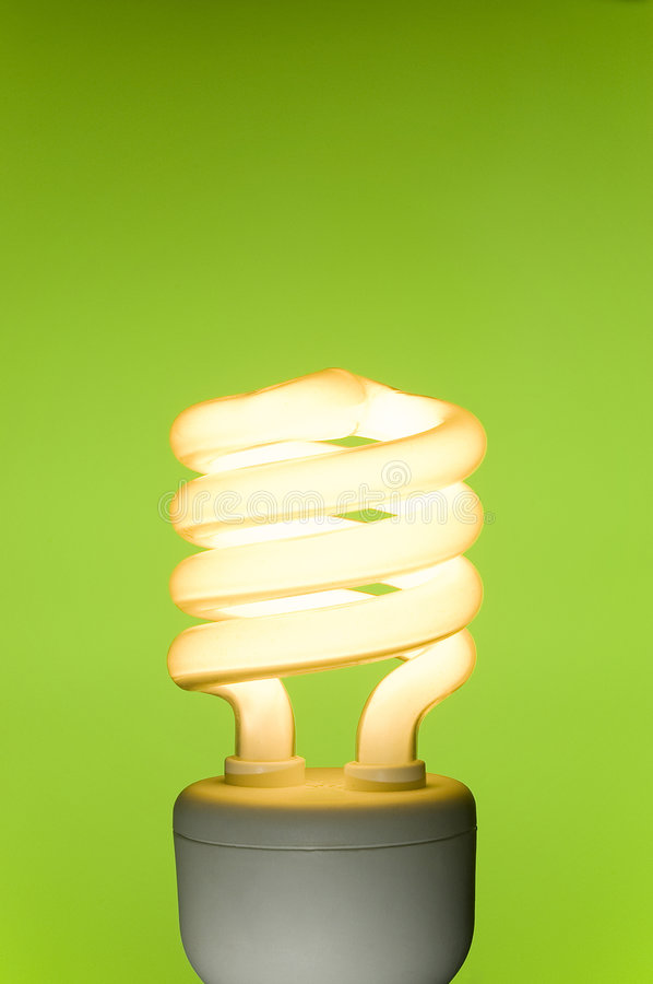 Download Energy Saving Fluorescent Light Bulb Stock Photo - Image: 6422326