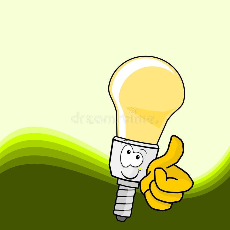 Download Energy saving lamp stock illustration. Image of edison - 15868891