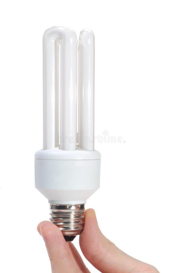 Energy-saving lamp royalty-vrije stock fotografie