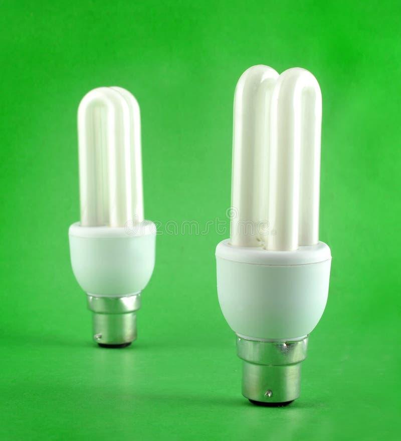 Energy-saving lampen stock foto