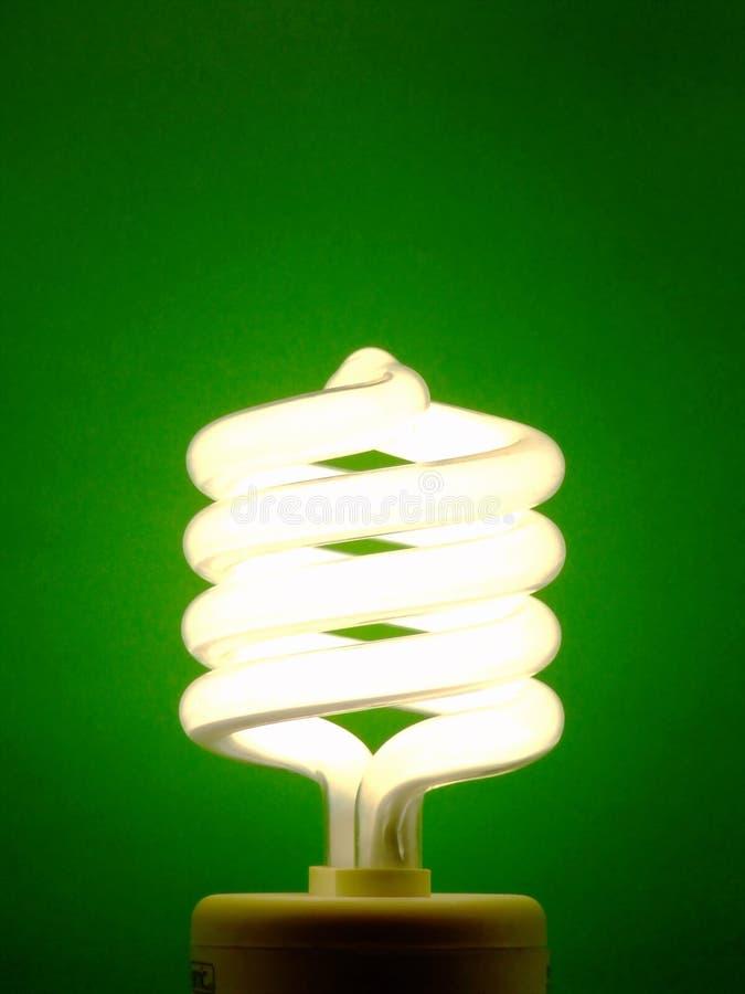 Free Energy-Saving Light Bulb Royalty Free Stock Photo - 4357555