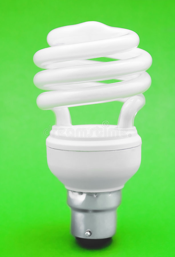 Free Energy-Saving Light Bulb Stock Photo - 5241860