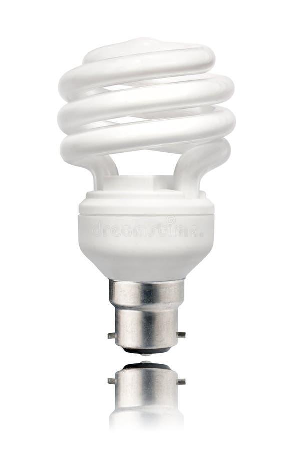 Energy Saving Lightbulb with Bayonet stock photo