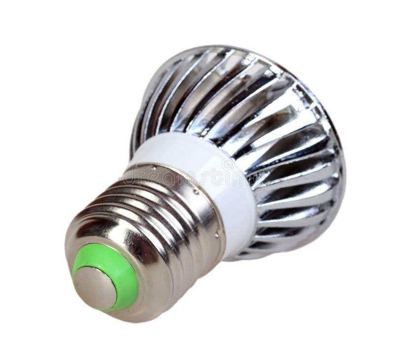 Energy-saving LEIDENE lamp royalty-vrije stock fotografie
