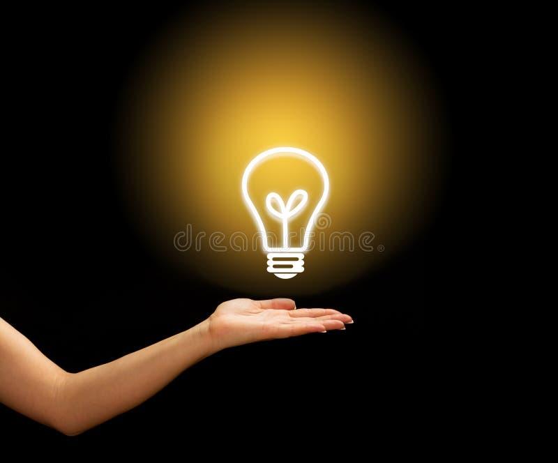 Energy symbol stock photography