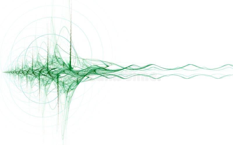 Energy wave stock illustration