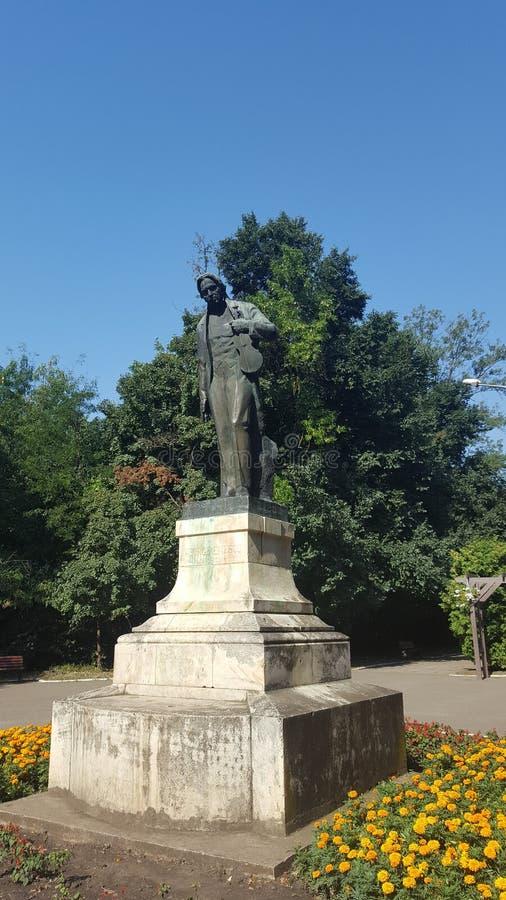 Enescu w Barlad zdjęcie royalty free