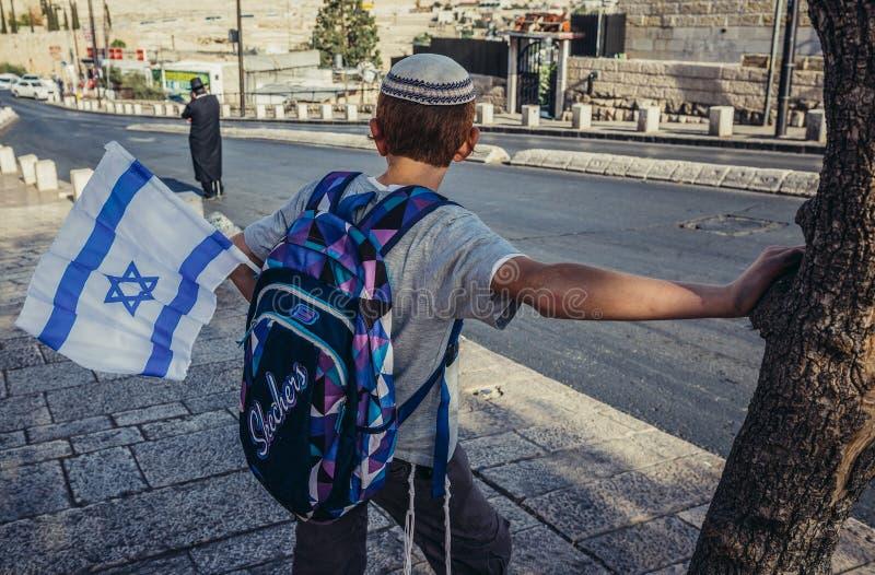Enfant à Jérusalem images libres de droits