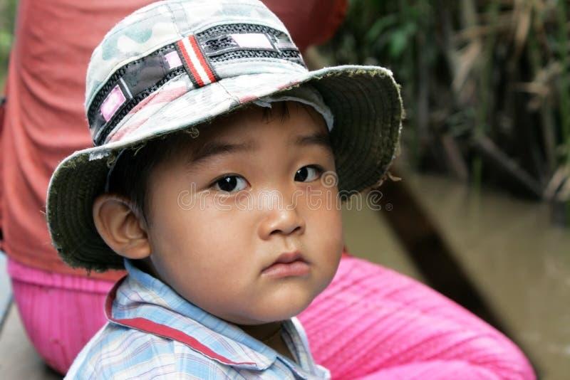 Enfant asiatique photographie stock