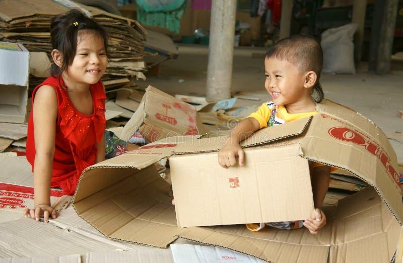 Enfant asiatique, enfants vietnamiens photographie stock