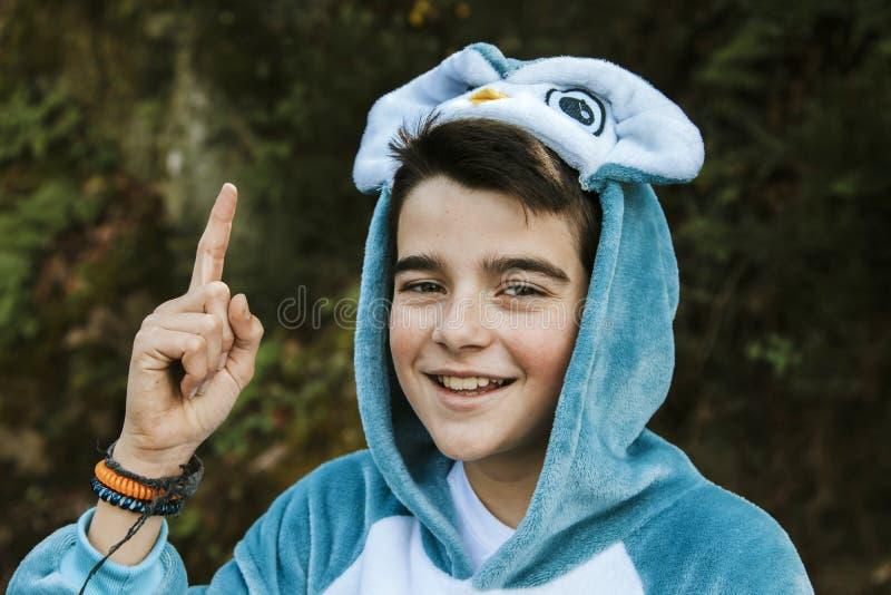 Enfant déguisé image libre de droits
