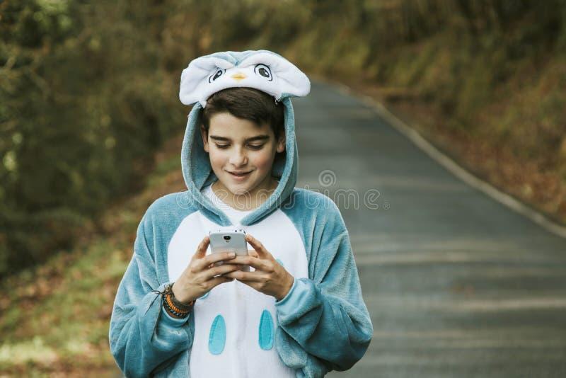 Enfant déguisé photographie stock libre de droits