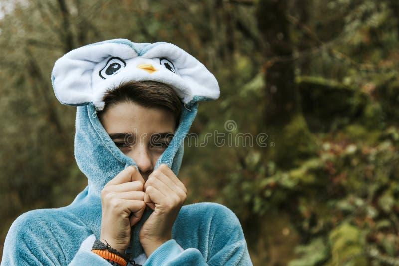 Enfant déguisé photos libres de droits