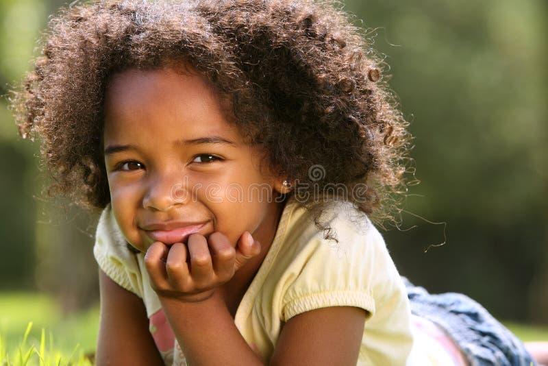 Enfant d'Afro photos stock