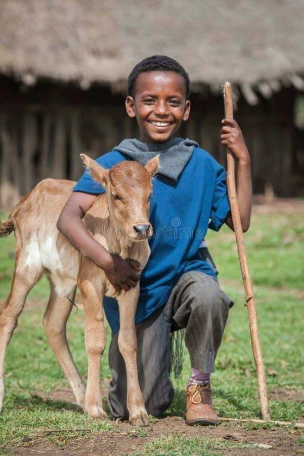 Enfant d'Ethio photographie stock libre de droits