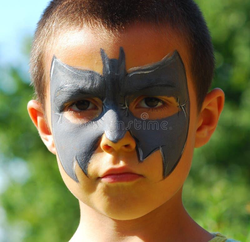 Enfant de 'bat' photos stock