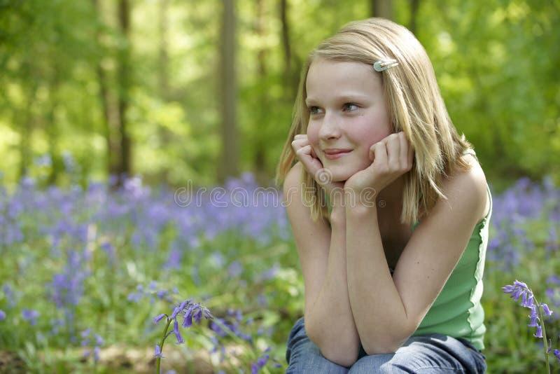 enfant de bluebells images stock