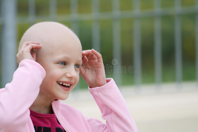 Enfant de Cancer photo stock