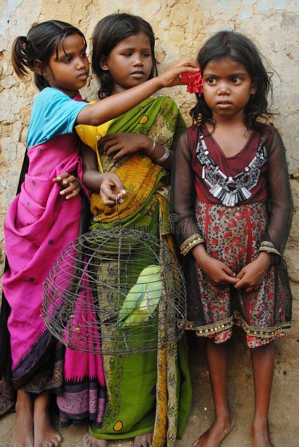 Enfant de fille en Inde photos libres de droits