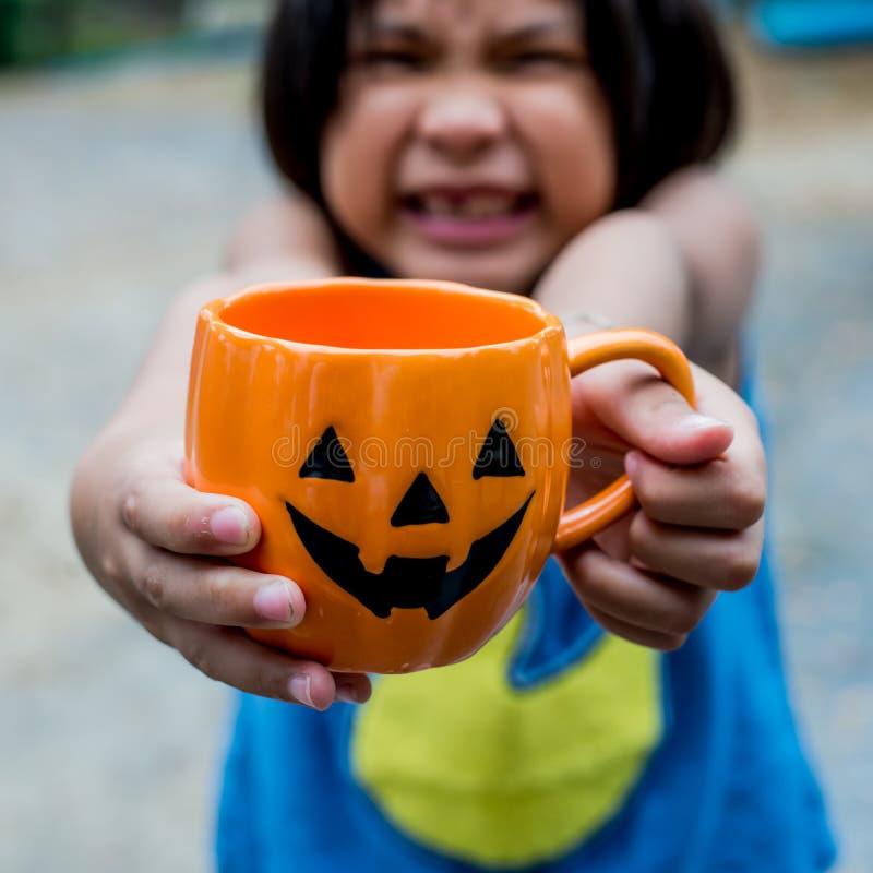 Enfant de Halloween images stock