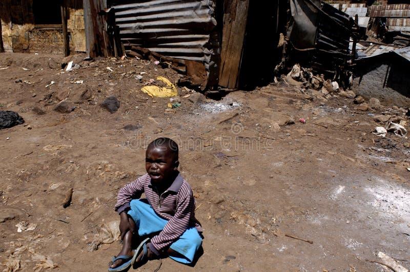 Enfant de l'Afrique photo libre de droits